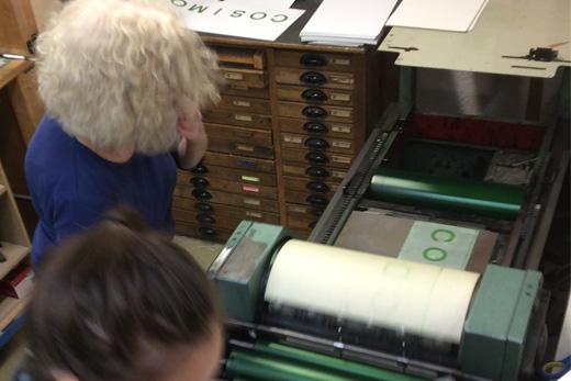Letterpress FAG Grossformat Werkstatt Hoeflich