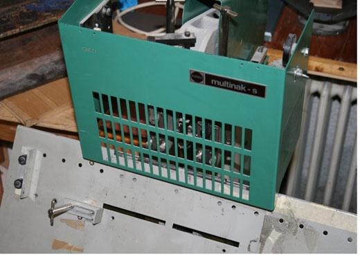 Heftmaschine Werkstatt Hoeflich Muenchen
