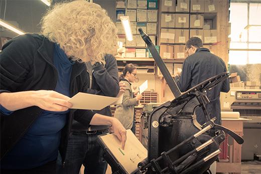 letterpress lernen muenchen workshop