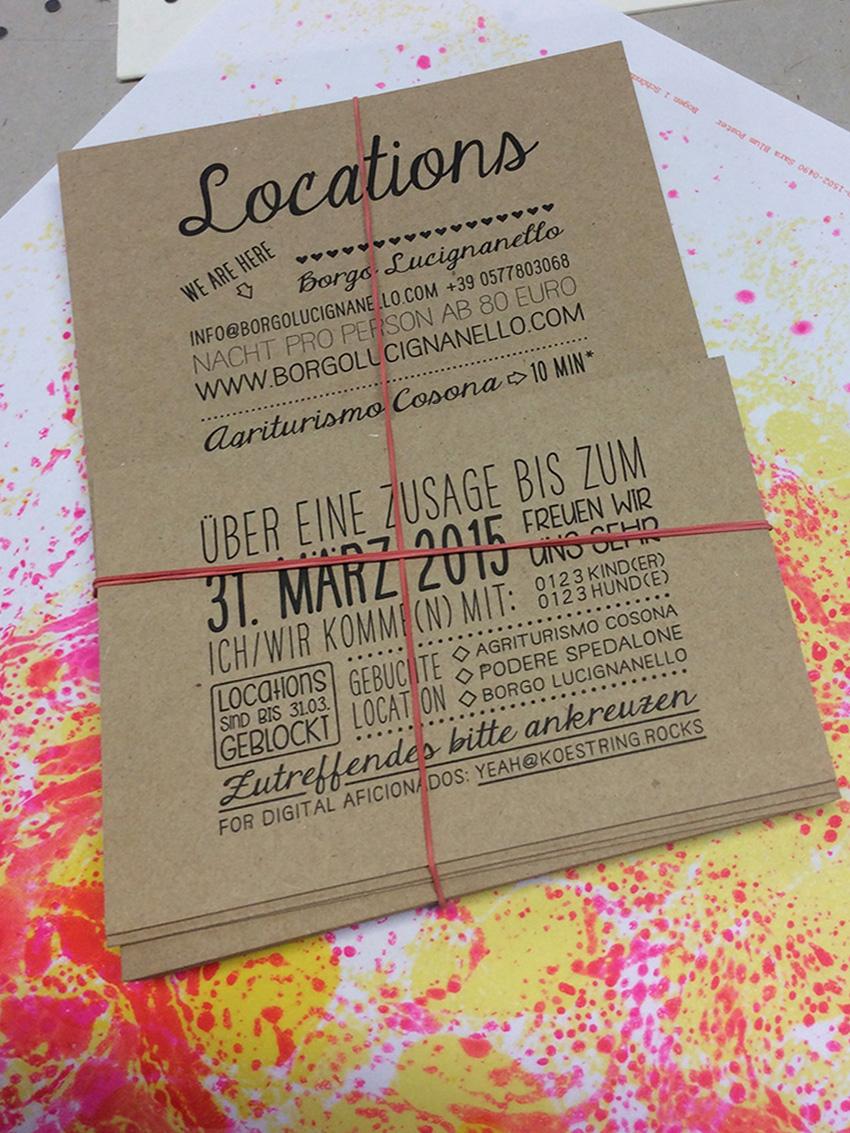 hochzeitseinladung im letterpress