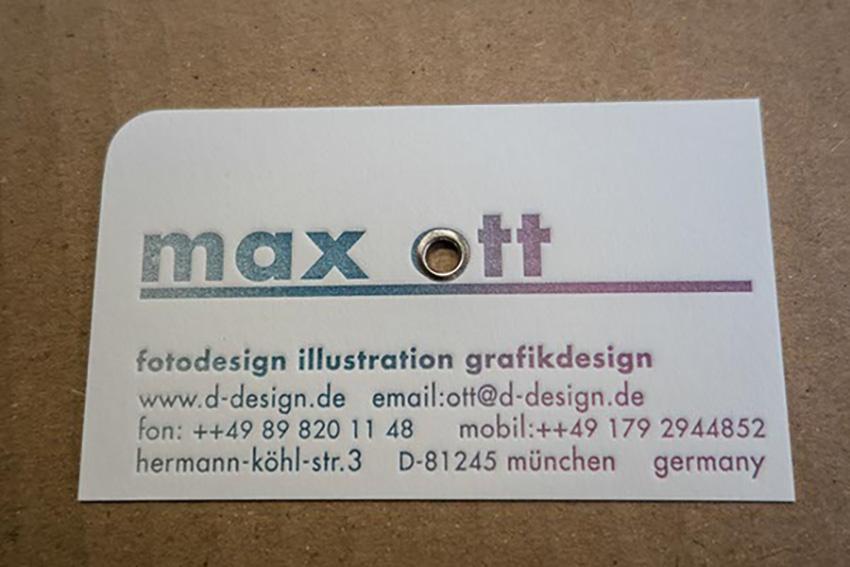 Drucke im Letterpress Irisdruck geoest oesen