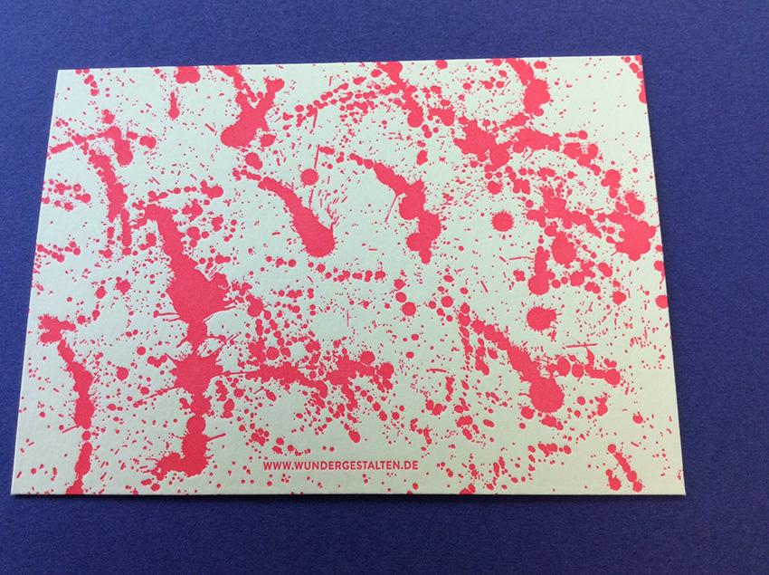 postkarte irisdruck wundergestalten schuff 3