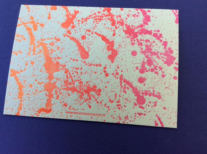 postkarte irisdruck wundergestalten schuff 2