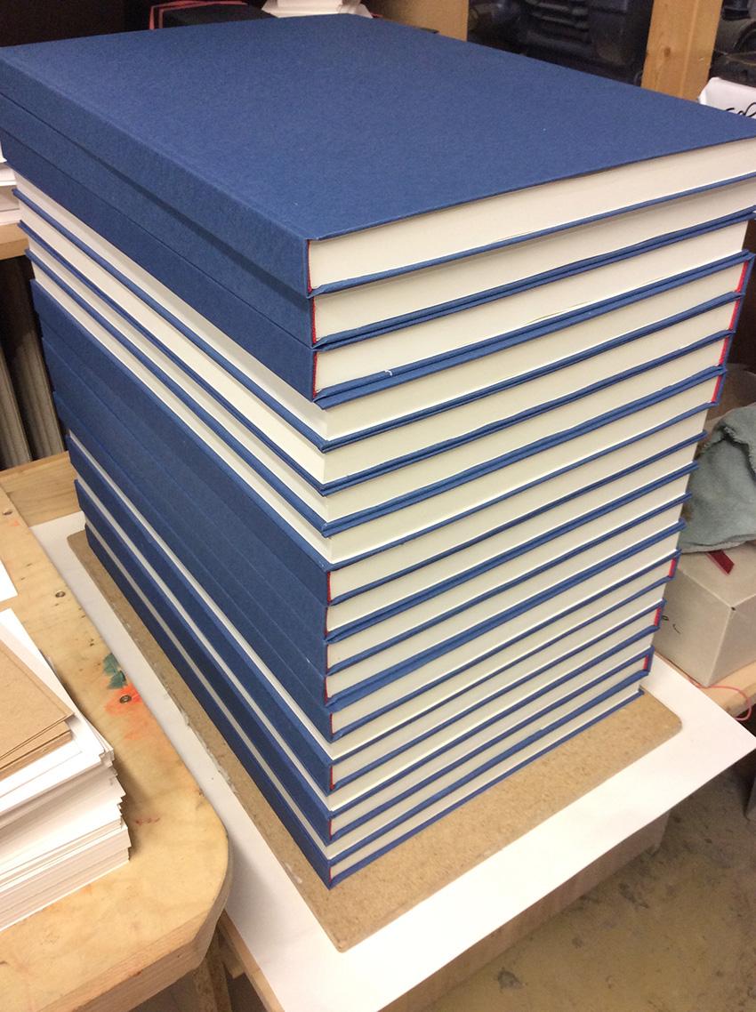 Buchbinderei Hardcover