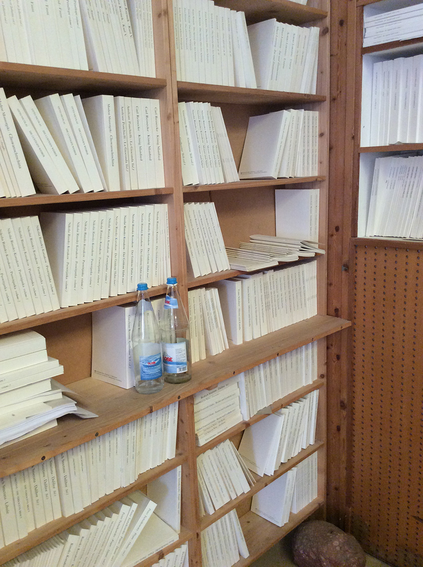 Buchbinderei Klebebindung