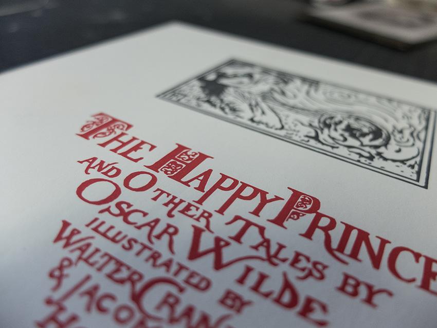 Buchbinderei und Letterpress